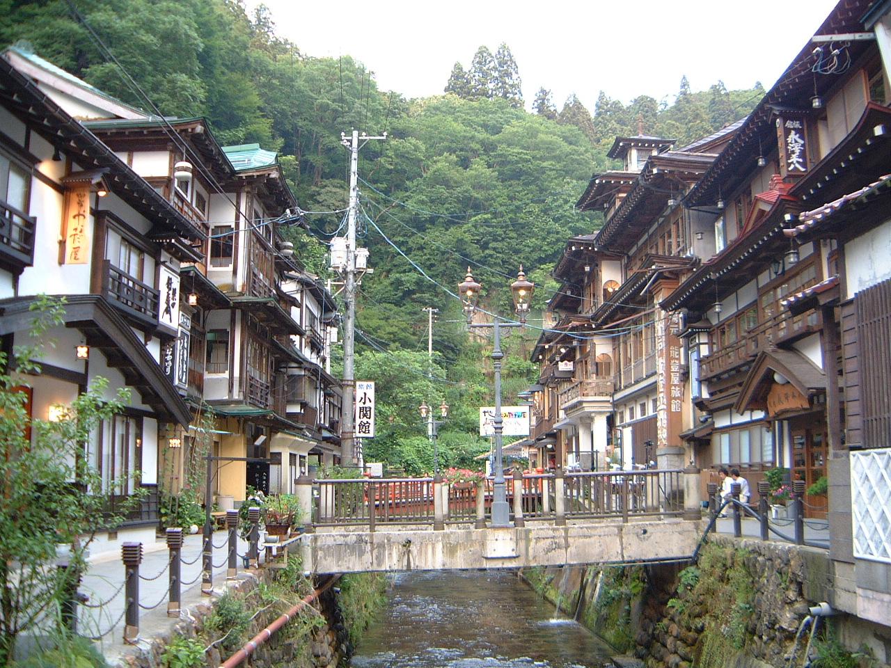 大正ロマンの銀山温泉へ: 旅日記
